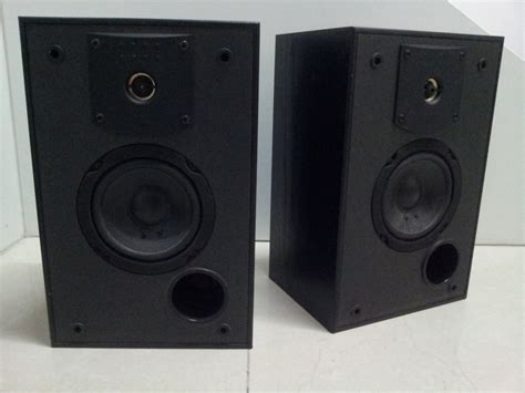 jbl j2050 usa made stereo bookshelf speaker used