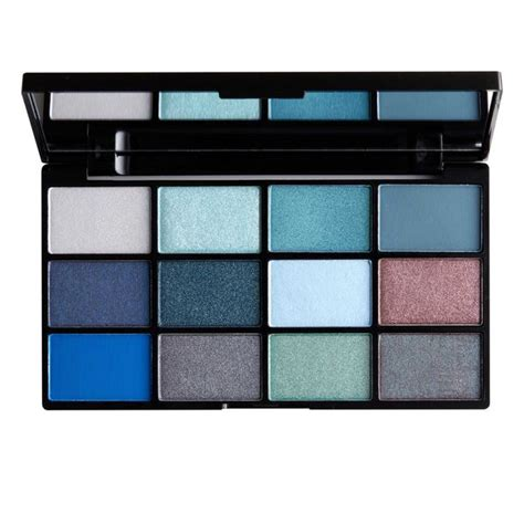 Nyx Make Up Palette Eye Shadow Lipstick Blush On Foundation Palet in your element shadow palette water nyx professional