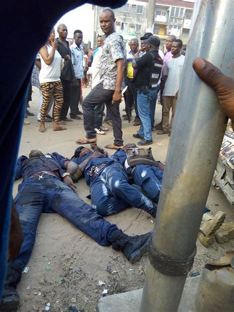 gunmen shoot bakassi boys  aba  die graphic