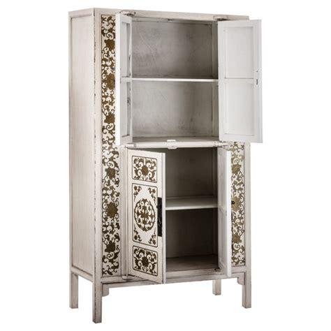 armario oriental armario oriental en blanco lacado y oro