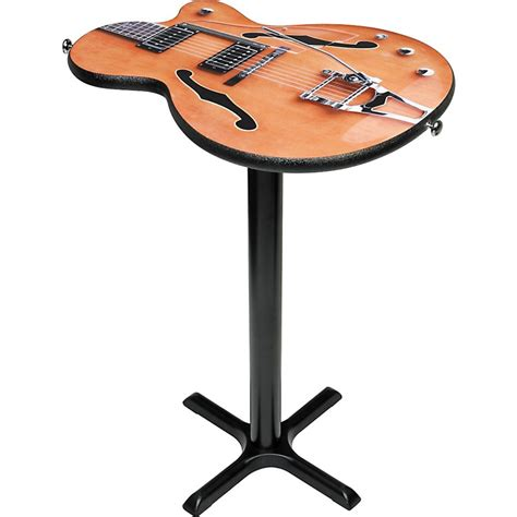 Gear One Imperial Guitar Cocktail Table W 40 Quot Base Guitar Coffee Table