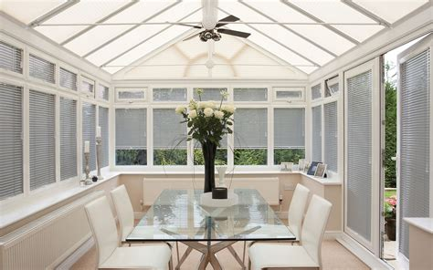 Conservatory Blinds Silver Conservatory Roof Blinds 2017 Grasscloth Wallpaper