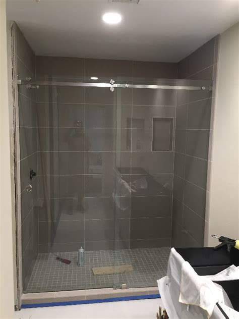 Shower Doors San Francisco Sliding Shower Doors San Diego Patriot Glass And Mirror San Diego Ca