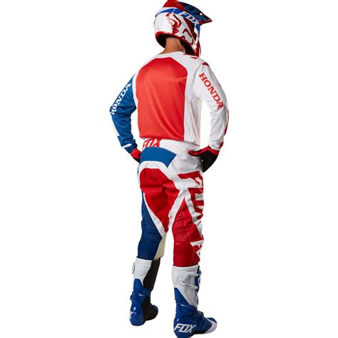 fox honda motocross gear 2018 fox racing 180 honda gear kit red sixstar racing