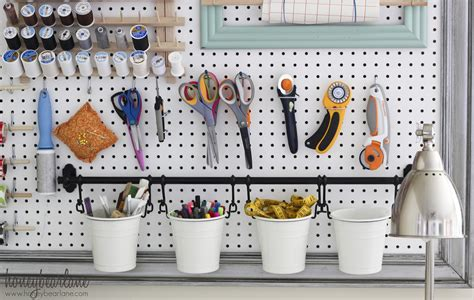 Cool Pegboard Ideas | garage organization ideas to improve your garage s function