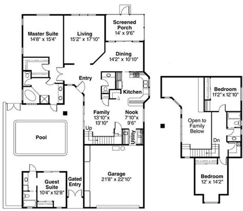 house plans with separate apartment house plans with apartment separate