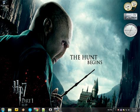 themes for windows 7 harry potter microsoft released official quot harry potter and the deathly