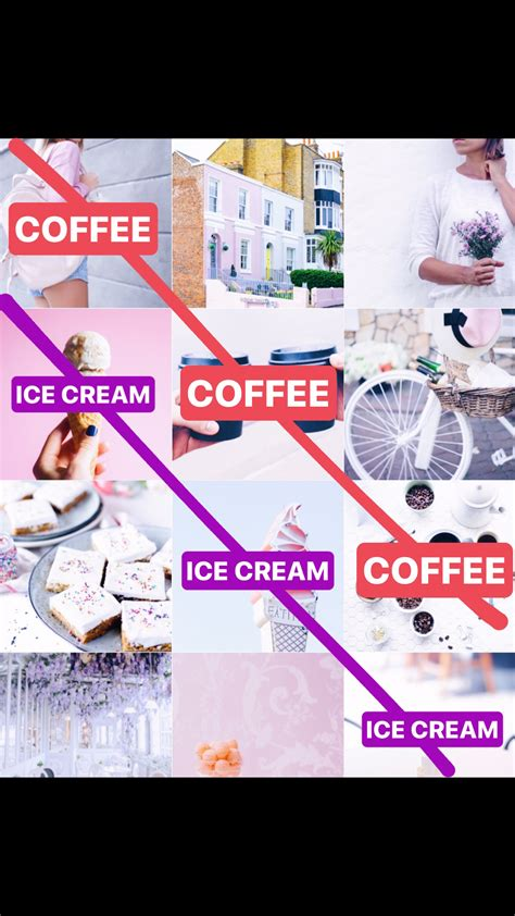 instagram tile layout 9 types of instagram grid layouts planner tips