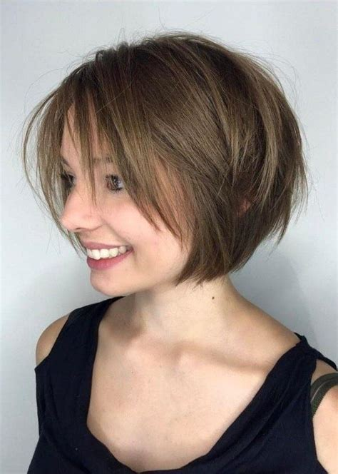 haircuts bob bangs 2018 latest unstructured style bob hairstyles