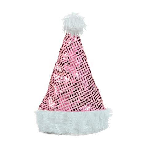 pink sequin santa hat oriental trading discontinued