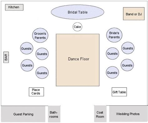 wedding reception layout for mc how to arrage 8ft reception table in the same room as the