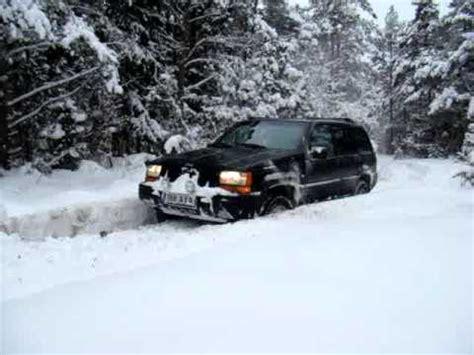 Jeep Grand In Snow Jeep Grand Zj In Snow