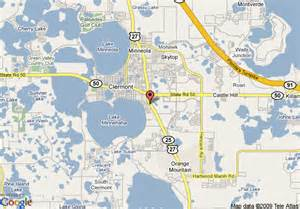 map of orlando resorts clermont