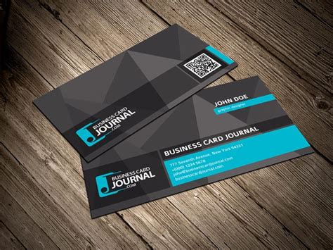 55 Free Creative Business Card Templates Designmaz Cool Business Card Templates