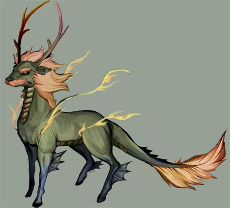 Mythical Creatures Of Asia the qilin also spelled kylin kirin or kỳ l 226 n japanese