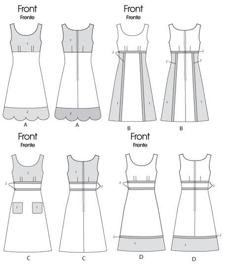 pattern review new look 6322 mccall s 6322 misses dresses