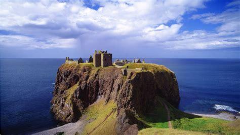 Think Modular Castle And Cliff Nature Landscape Sea Cliff Rock Architecture Castle