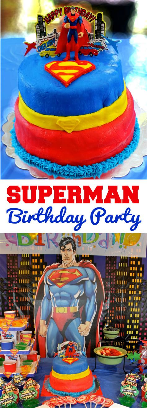 Superman Decorations by Superman Birthday Happy And Blessed Home