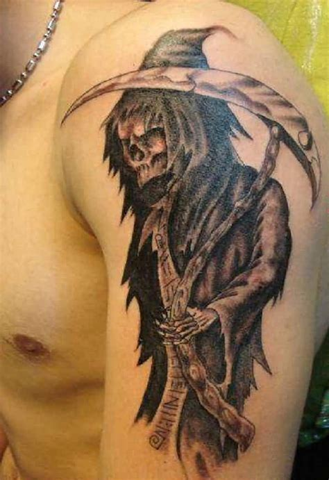 grim reaper tattoos for men grim reaper tattoos designs ideas and meaning tattoos
