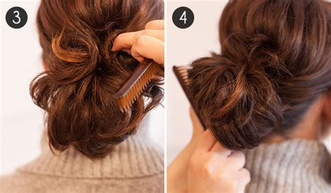 how to up your hair in a pony tail when its layered photos short hair ponytail step by step photos black