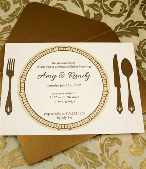 thank you cards for wedding dinner plates template invitation template rehearsal dinner invitation