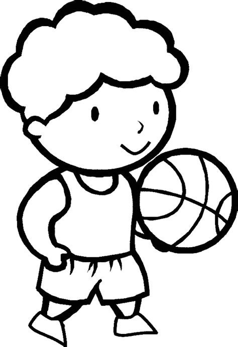 basketball cartoon coloring pages cartoon girl playing basketball cliparts co