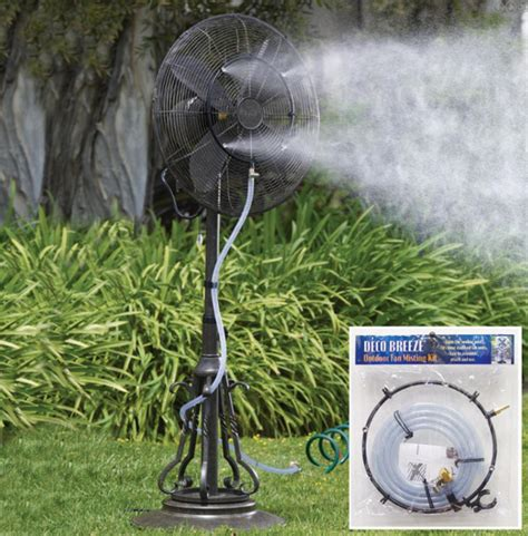 best outdoor misting fan 3 metre misting kit mistmate climate australia