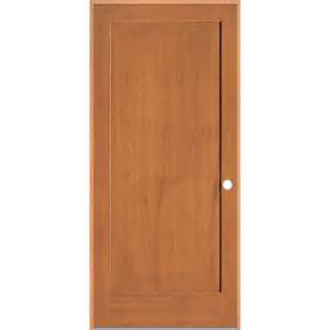 Doors Interior Lowes by Shop Reliabilt Prehung Solid 1 Panel Fir Interior