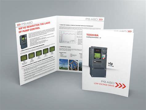 Industrial Brochure Template On Behance Industrial Catalog Template