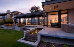 contemporary decor modern home design set overlooking lake washington home pinterest house design home
