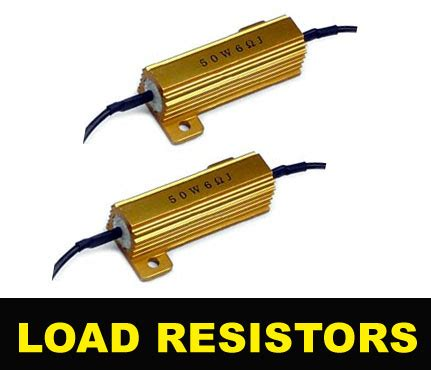 what are load resistors 50w 6 ohm led signal blinker bulbs load resistors 1157