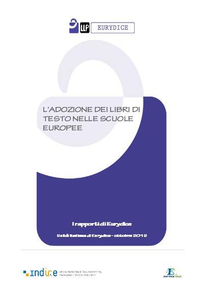 adozione libri di testo l adozione dei libri di testo nelle scuole europee