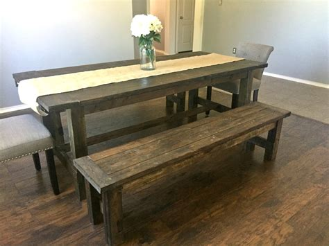 farmhouse tables with benches farmhouse table and benches leap of faith