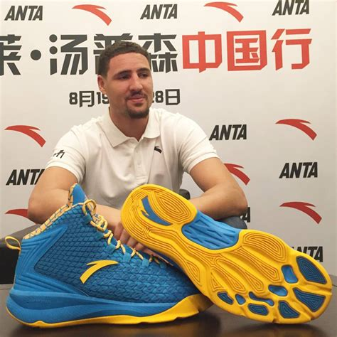 david thompson basketball shoes update this actually isn t klay thompson s anta signature