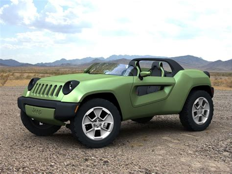new jeep renegade convertible 2008 jeep renegade concept