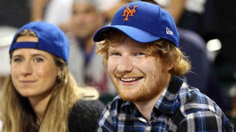 singer ed sheeran hints at marriage with girlfriend cherry