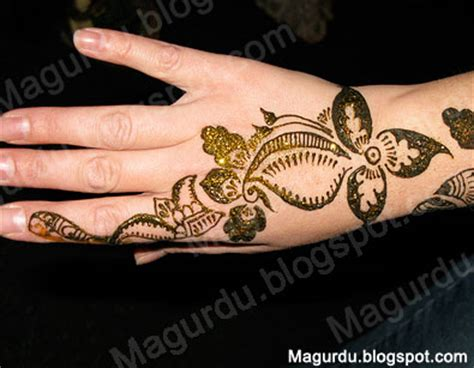 hair style latest arabic mehndi designs pictures new