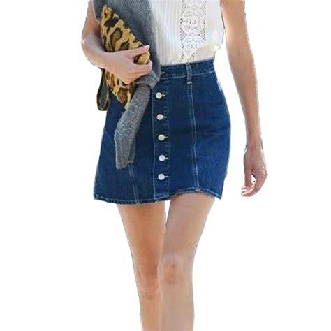 designer denim skirt library