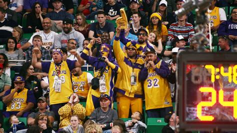 best gifts for lakers fans ranking the nba s five best fan bases fox sports