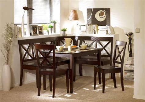 Corner Booth Dining Set Table Kitchen Espresso Corner Bench Dining Set Booth Table Chairs Kitchen Breakfast