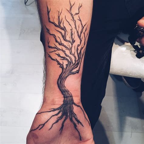 60 ash tree tattoos ideas ash tree on right forearm