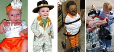 what to be for halloween kids the most inappropriate kids halloween costumes ever