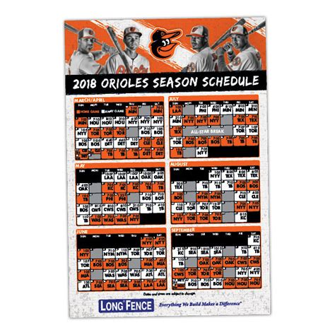 printable orioles tickets orioles magnetic schedule baltimore sun