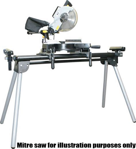 bench mitre saw wolf sliding mitre saw stand bench universal extending work table ebay