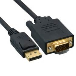 10ft to displayport to vga cable cablewholesale