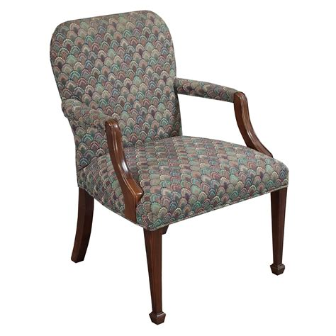 fliese 1x1m patterned chair powell brown blue patterned high