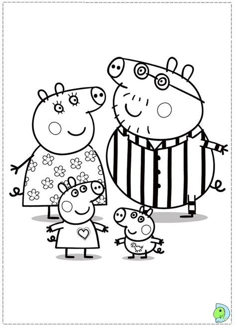 peppa pig christmas coloring book pages for kids learn get this online peppa pig coloring pages 32605