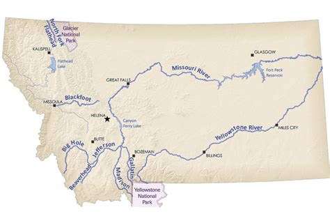 map of rivers in montana montana seven fly fishing spots the nature conservancy