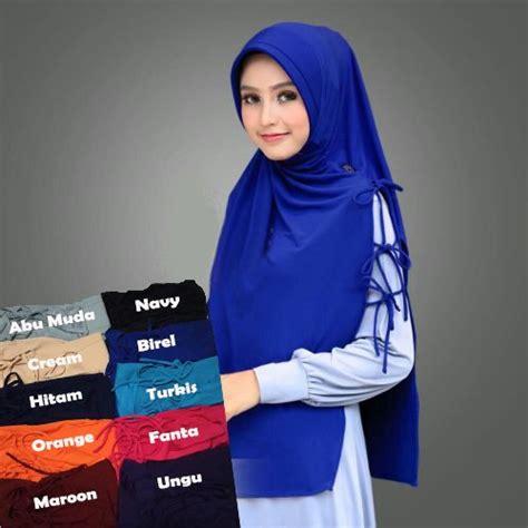 jual jilbab instan kerudung hijab syari bergo bukalapak