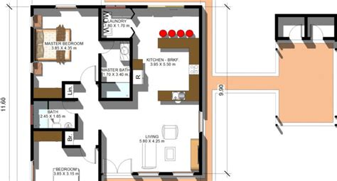 80 square meter house plan 80 square meters in square feet 100 square meter house